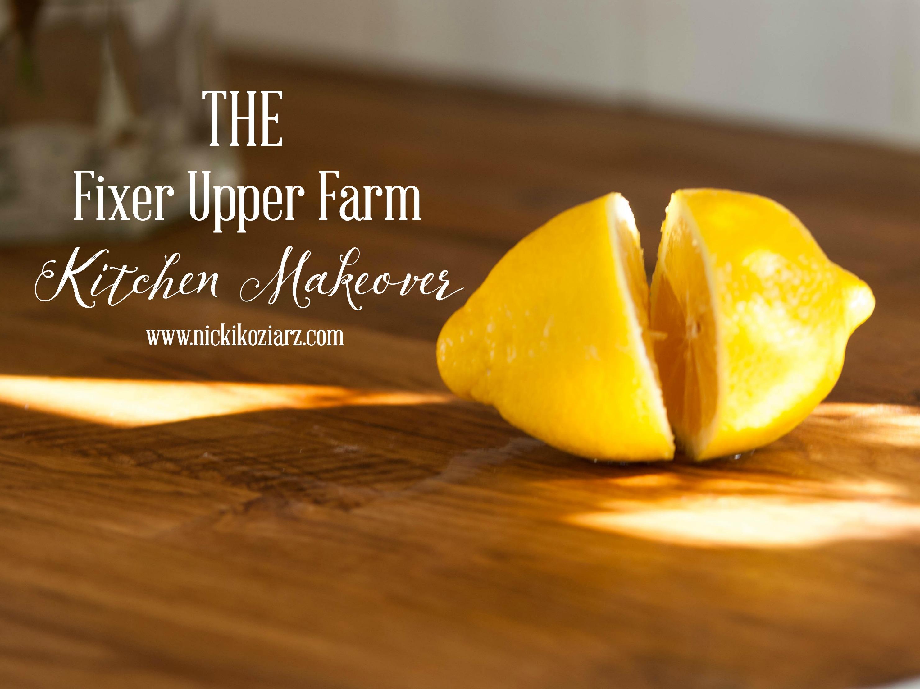 Fixer upper kitchen makeovers - Kitchenmakeovergraphic