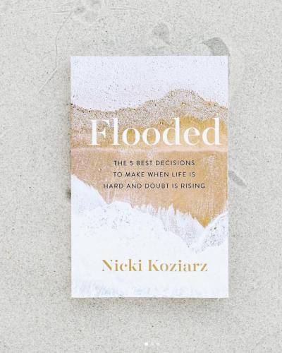 Flooded Book by Nicki Koziarz